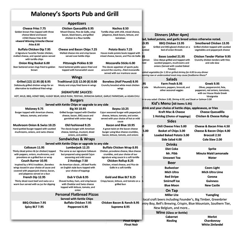Maloney's-Before
