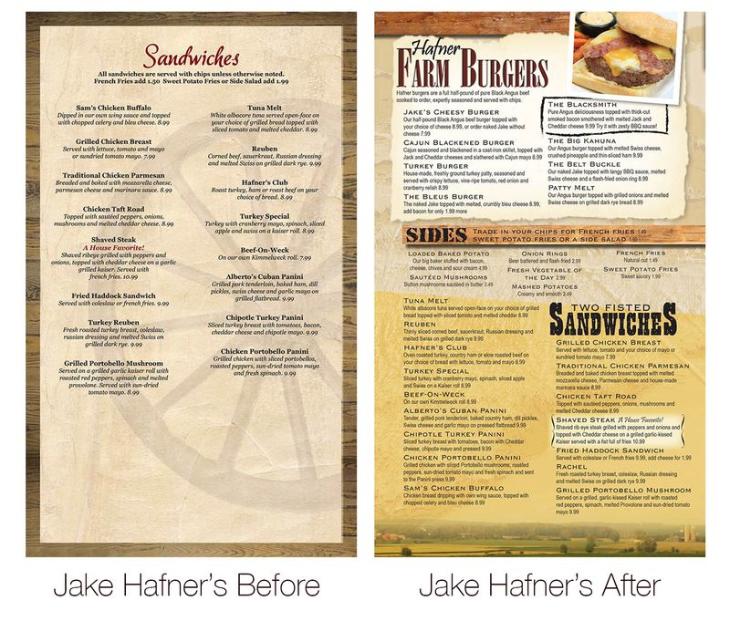 Before & After Hafner's